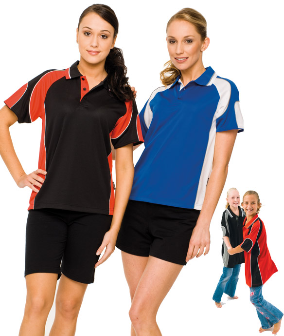 309 Glenelg  Polo shirts, Cool dry, breathable, light weight, Mens, Ladies, Kids