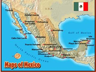Mexico Zihua Ixtapa Map