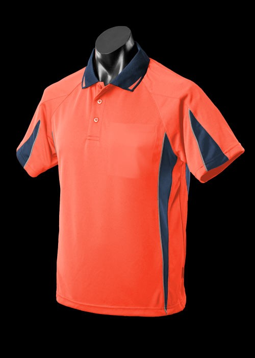 Hi Vis Orange Navy