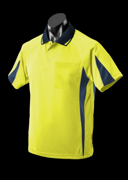 Euruka polo/new colours/1_1304-hiviz-yellow-navy