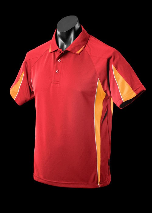 Euruka polo/new colours/1_1304-red-gold red