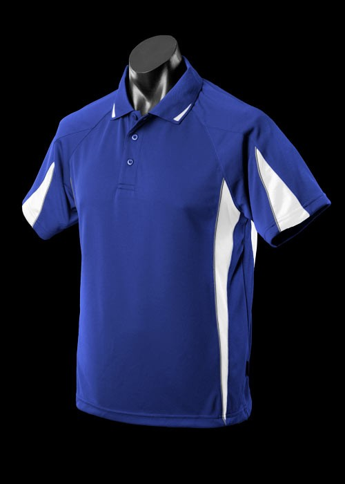 royal white ash Eureka Polo shirt