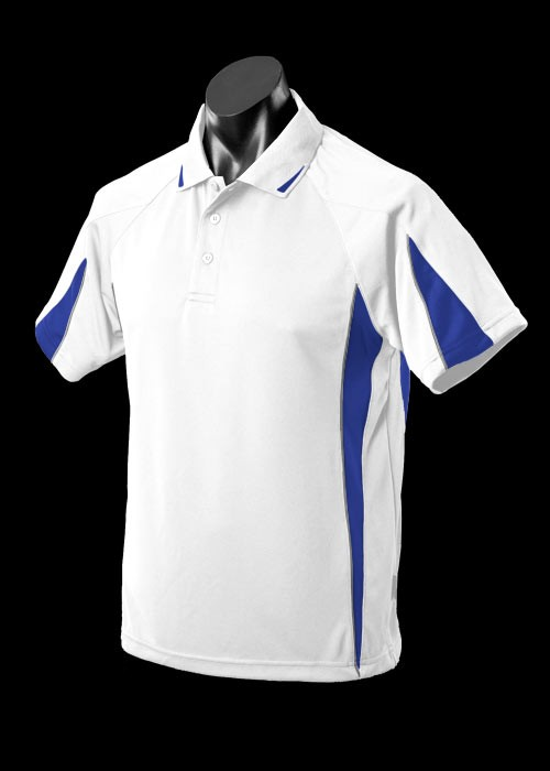 White Royalo Ashe Eureka Polo shirts
