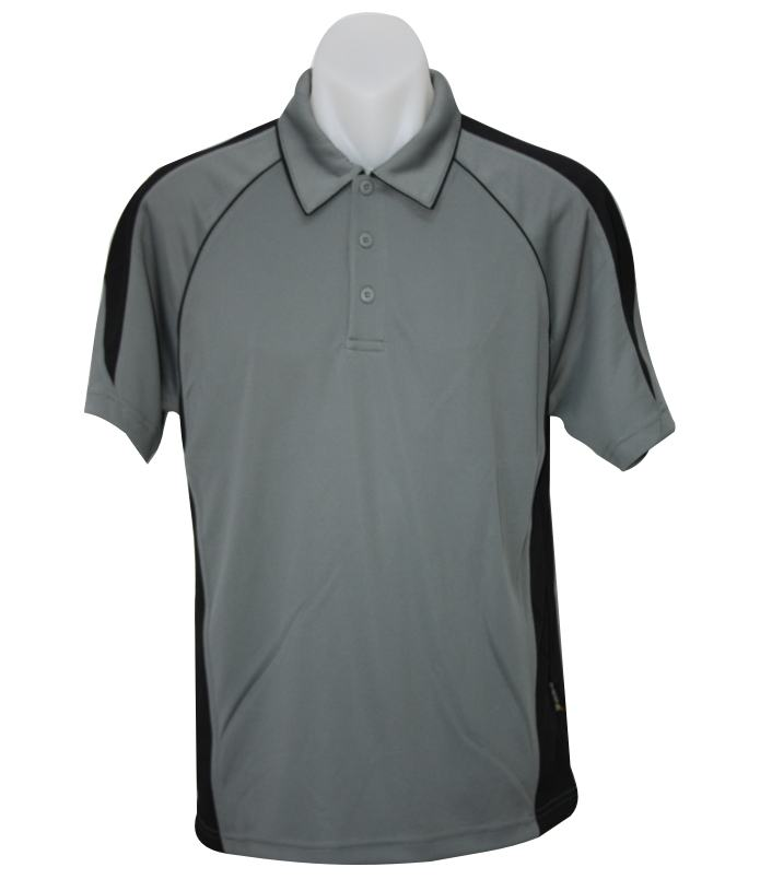 black Ash Premier Mens polo shirts