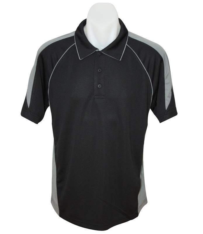 black / ashe premier polo shirt