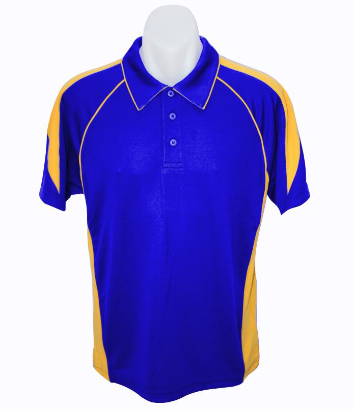 royal gold mens polo shirt