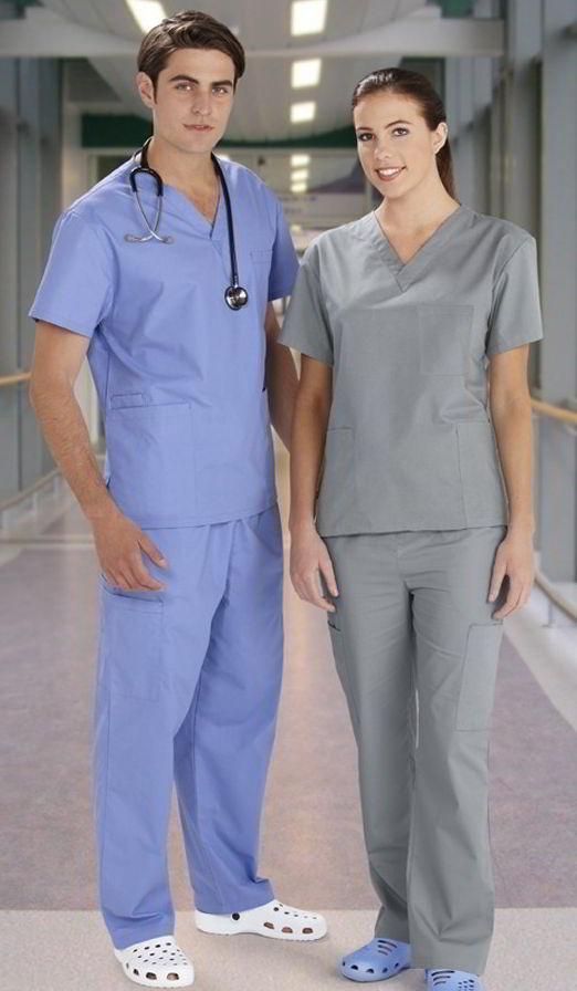 HEALTH BEAUTY/classic unisex scrubs/H10612
