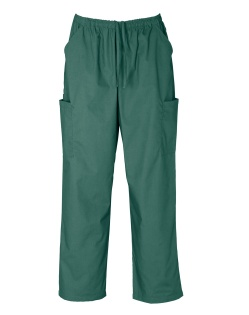 HEALTH BEAUTY/classic unisex scrubs/pants/H10610_huntergreen PANTS