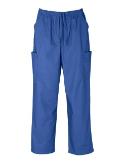 HEALTH BEAUTY/classic unisex scrubs/pants/H10610_royal PANTS.