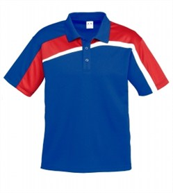 Velocity Polo/P111MS_Royal_Red_White.