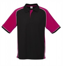 Biz collection/nitro polo/P10112_Black_Magenta