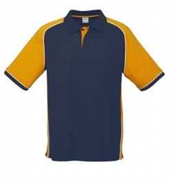 Biz collection/nitro polo/P10112_Nvy_Gold(