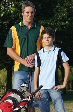 cool dry panel polo shirt kids and adult sizes