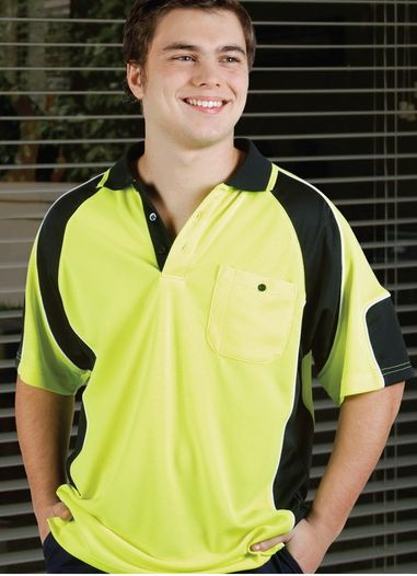 LJ Cool Dry safety polo shirt long and short sleeve