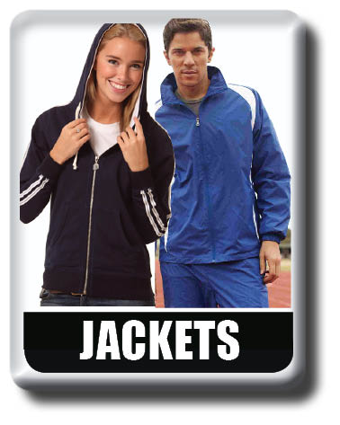 sports jackets, tracksuits