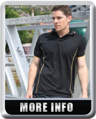 stitch feature polo shirt