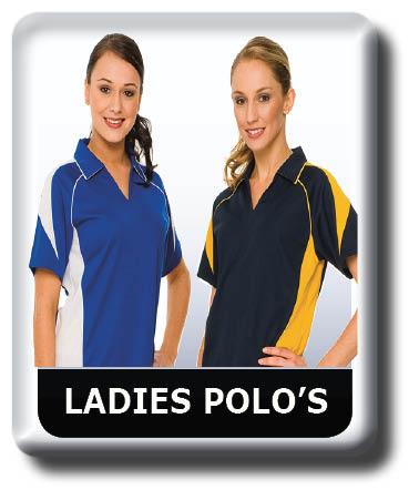 Ladies Polo shirt Collection, Cool Dry, Quick Dry, Breathable