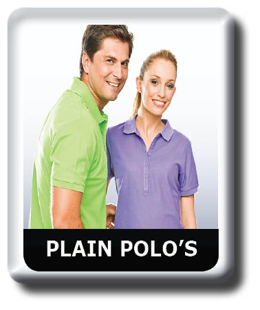 Plain Coloured Polo shirt Collection