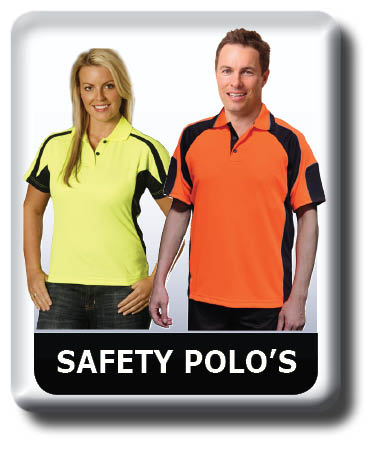 Hi vis Safety Polo shirts, Cool Dry, Quick Dry, Breathable
