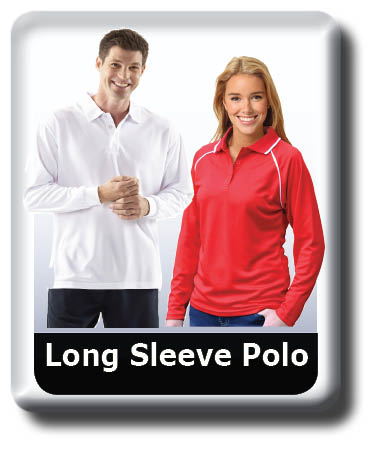 long sleeve polo Shirts, Cool Dry, Quick Dry Breathable.