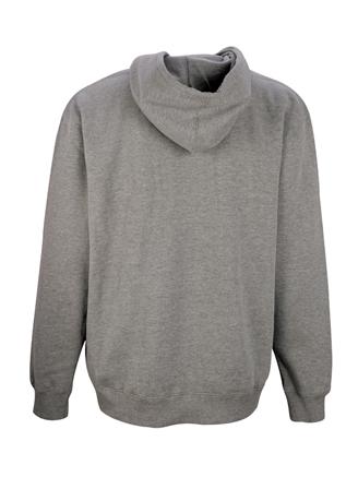 grey marle hoodie back