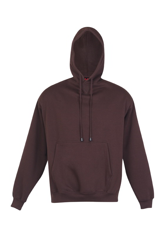 brown pocket hoodie