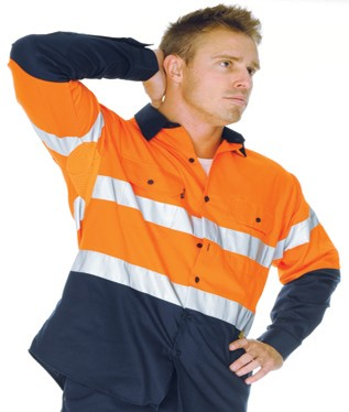 3982 reflective tape work shirt