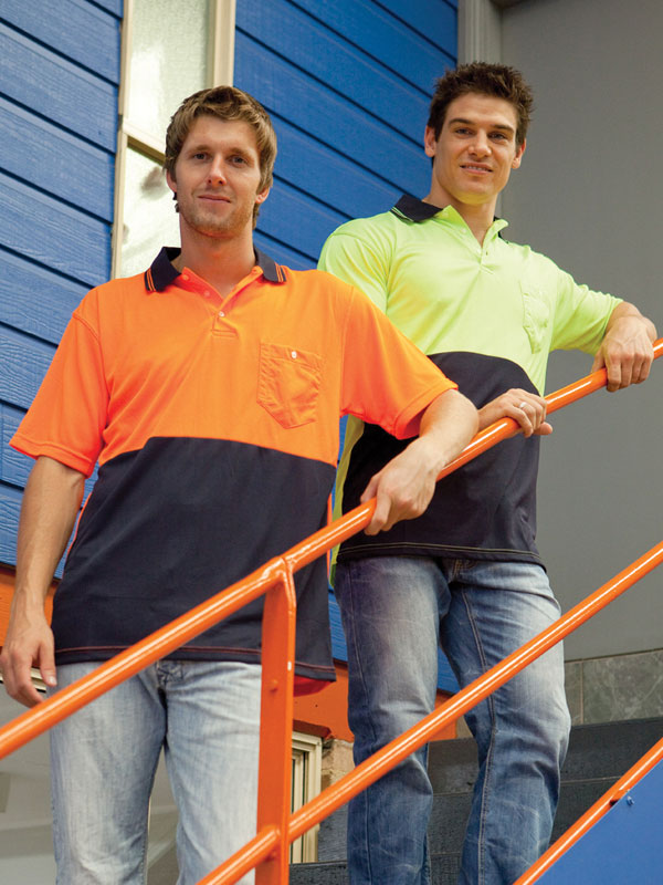 Hi Vis safety Polo shirt Quoz