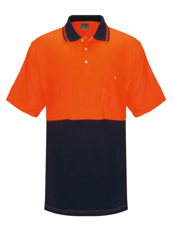 Orange Navy Safety Shirt