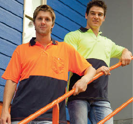 SAFETY Polo shirts