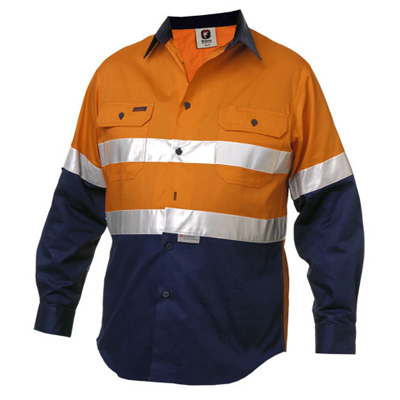 Safety Work shirts with tape