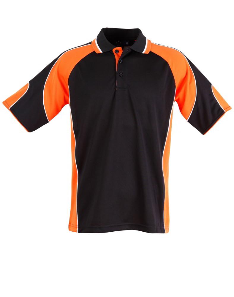 Orange black shirt is shirt for Orange polo shirt mens