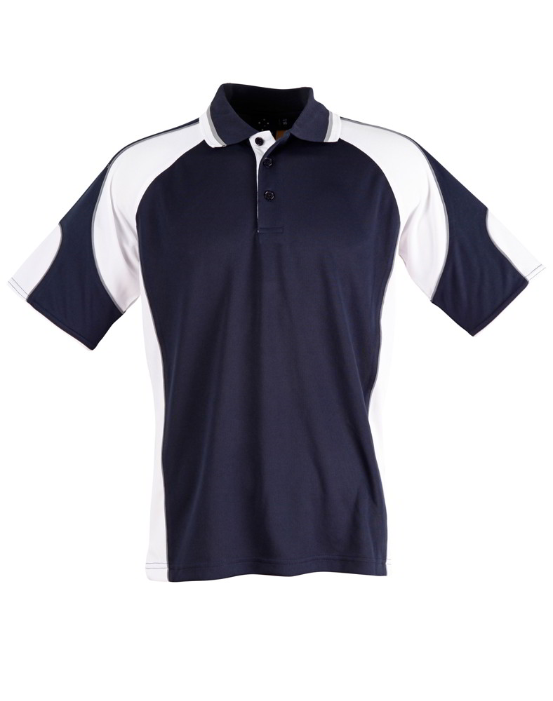 Usa Navy And White Polo Shirt 96aca 37336