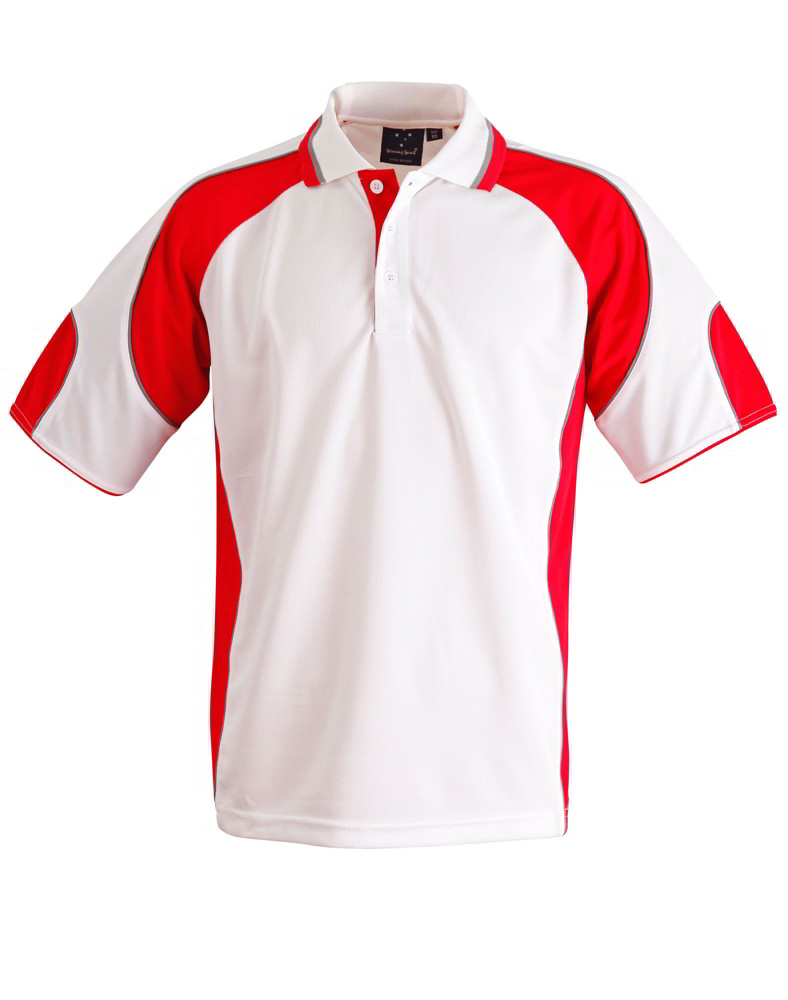 impact gear alliance polo shirt cool dry breathable