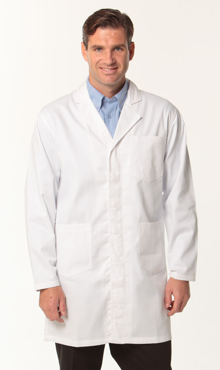 health/lab coat/M7632_White.