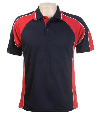 Glenelg Polo /Navy Red.jpg309 Glenelg Polo shirt,  Cool dry, breathable, light weight, Mens, Ladies, Kids