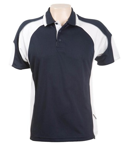 Glenelg Polo/Navy White.jpg309 Glenelg Polo shirt,  Cool dry, breathable, light weight, Mens, Ladies, Kids