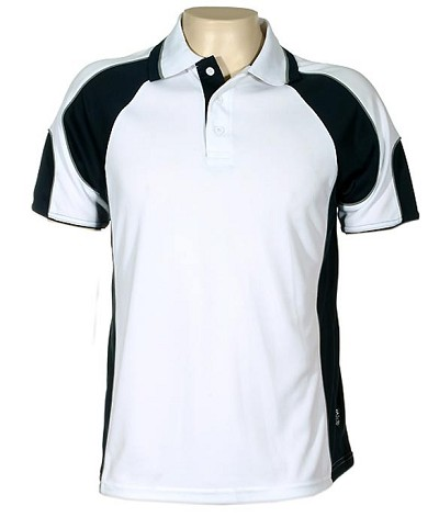 Glenelg Polo /white Navy.309 Glenelg Polo shirt,  Cool dry, breathable, light weight, Mens, Ladies, Kids