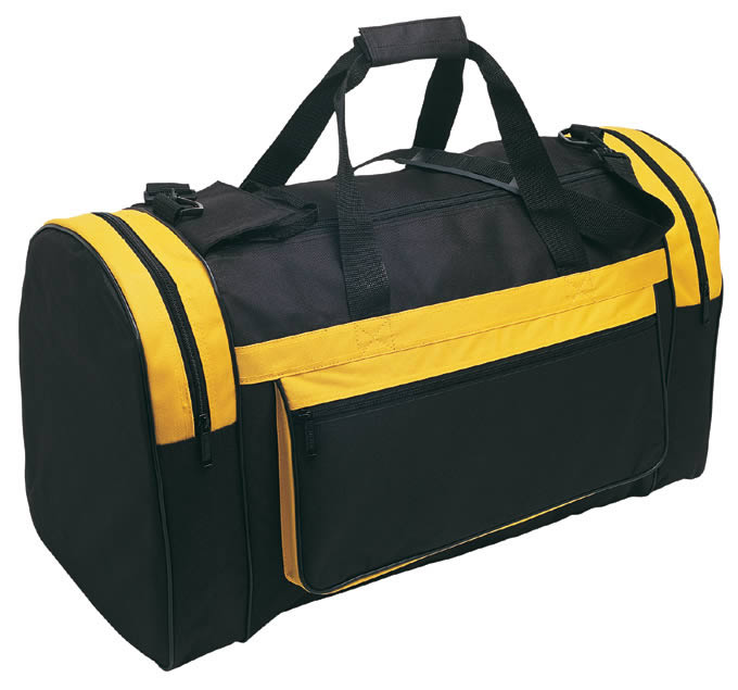 3406bd93a797 Black   Yellow. navy navy magnum sports bag