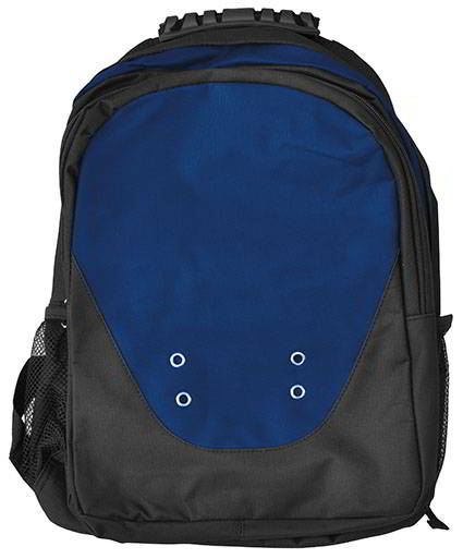 Black navy backpacks