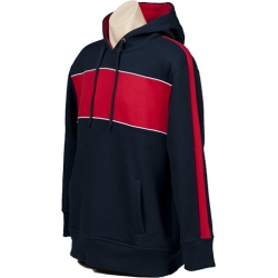 Navy Red White North Shore Hoodie