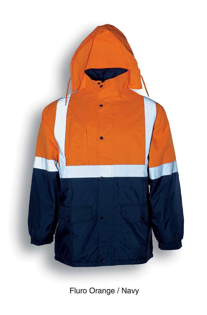 SJ0432 reflective tape work JACKET