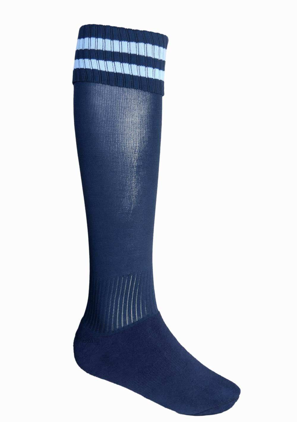 socks/small navy sky footy socks