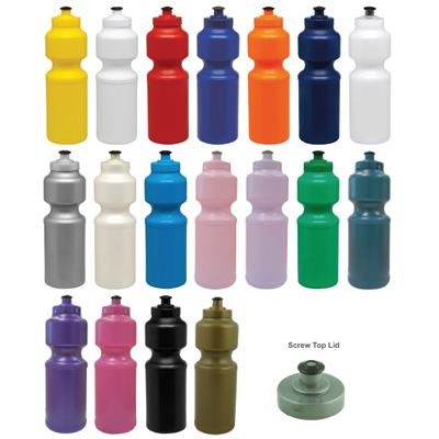 750ml Sports Bottle – Screwtop, BPA Free