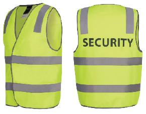 Printed Security Safet Vest
