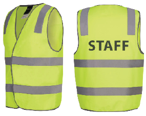 Printed Vest STAFF