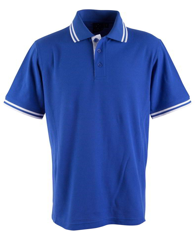 Royal White True Dry Polo Shirt