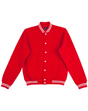 fl11 fleece varsity jacket