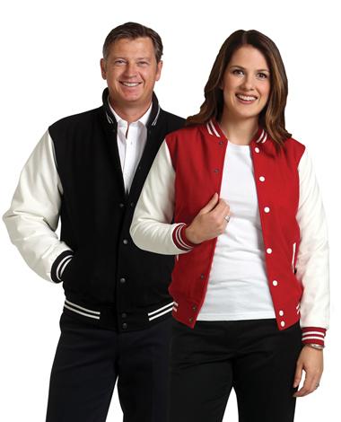 Wool blend Varsity Jacket