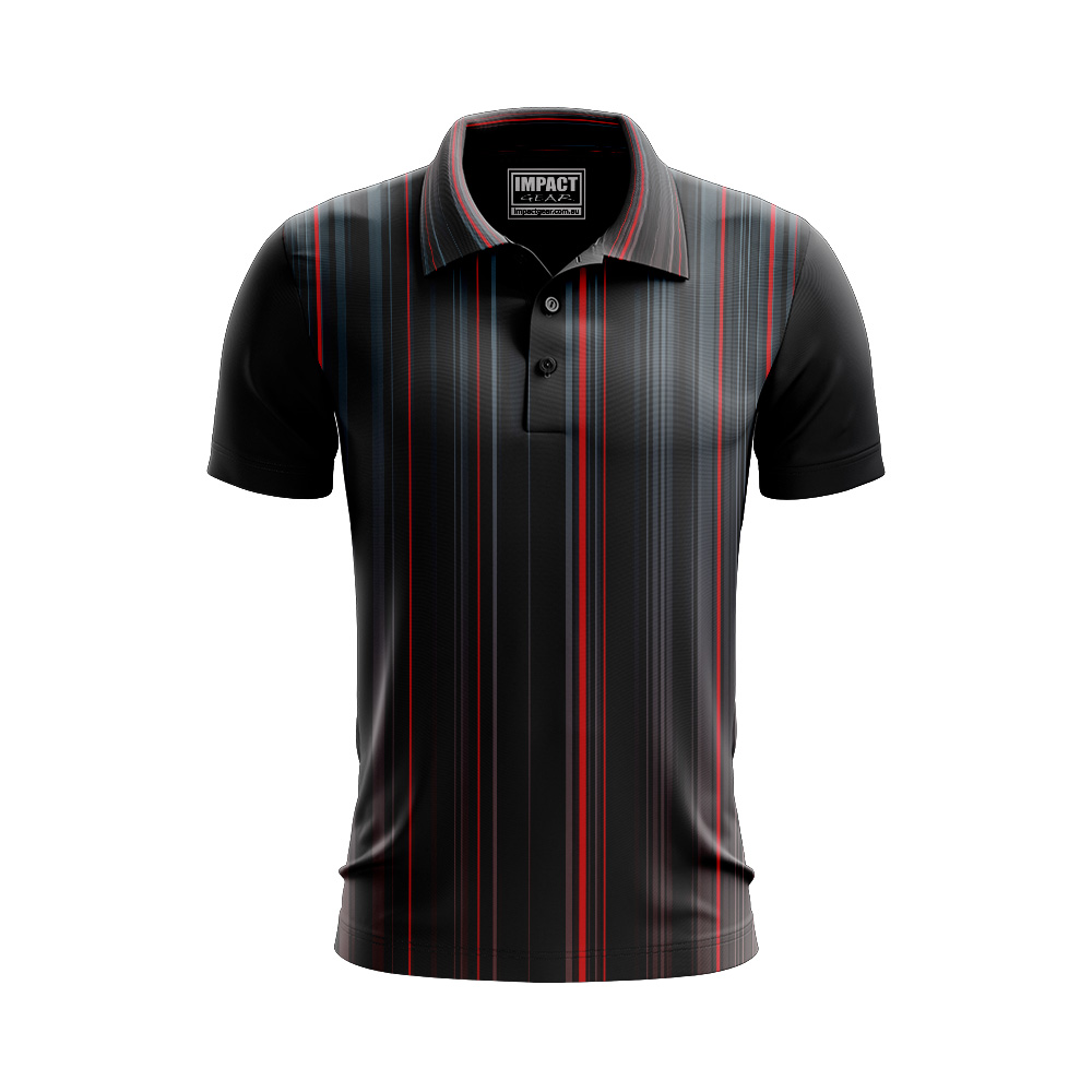 Fully Dye Sublimated Polo shirt design, Micro Mesh Cool Dry fabric